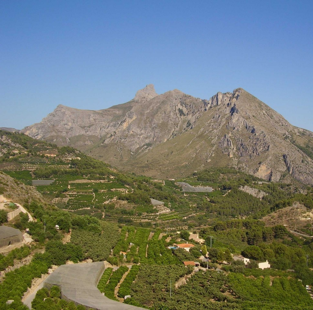 Sierra Bernia
